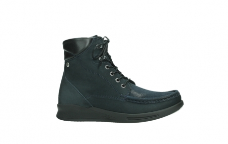 wolky lace up boots 05904 four 10875 blue winter stretch nubuck_2
