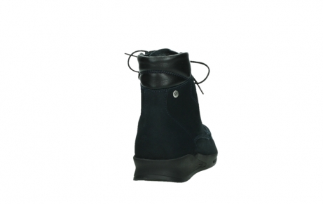 wolky mid calf boots 05904 four 10875 blue winter stretch nubuck_20
