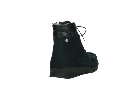 wolky mid calf boots 05904 four 10875 blue winter stretch nubuck_21