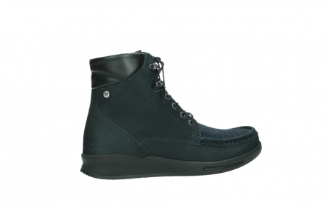 wolky mid calf boots 05904 four 10875 blue winter stretch nubuck_24