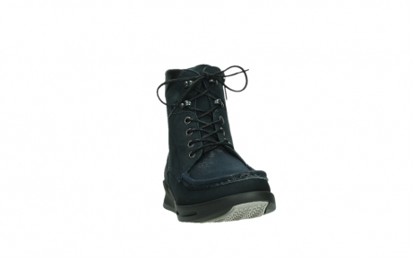 wolky lace up boots 05904 four 10875 blue winter stretch nubuck_6