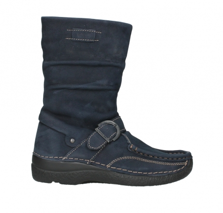 wolky mid calf boots 06267 roll jacky 11800 blue nubuck_1