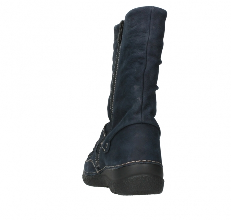 wolky mid calf boots 06267 roll jacky 11800 blue nubuck_18