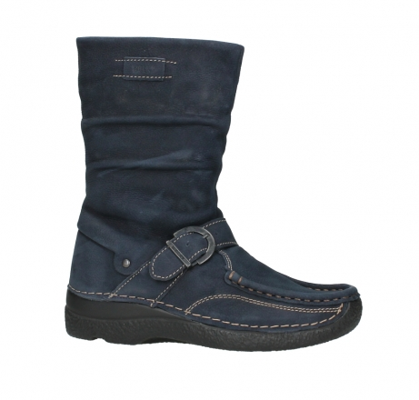 wolky mid calf boots 06267 roll jacky 11800 blue nubuck_2