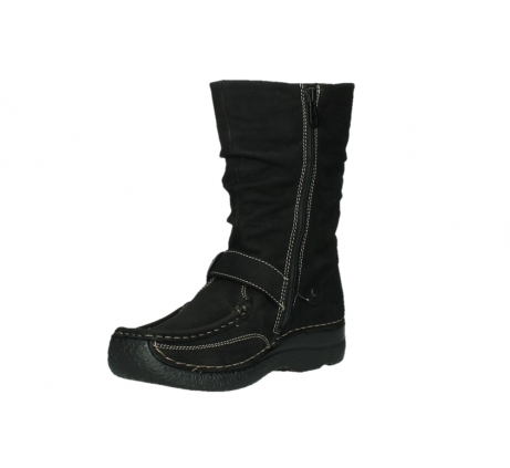 wolky mid calf boots 06267 roll jacky 50000 black oiled leather_10