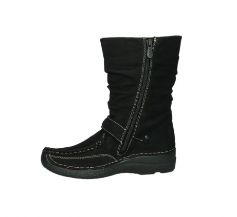 wolky mid calf boots 06267 roll jacky 50000 black oiled leather_12