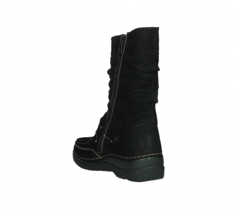 wolky mid calf boots 06267 roll jacky 50000 black oiled leather_17