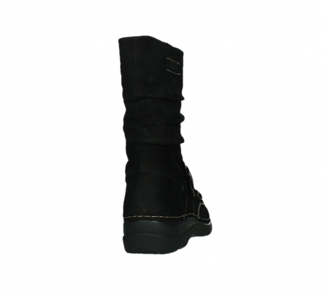 wolky mid calf boots 06267 roll jacky 50000 black oiled leather_20