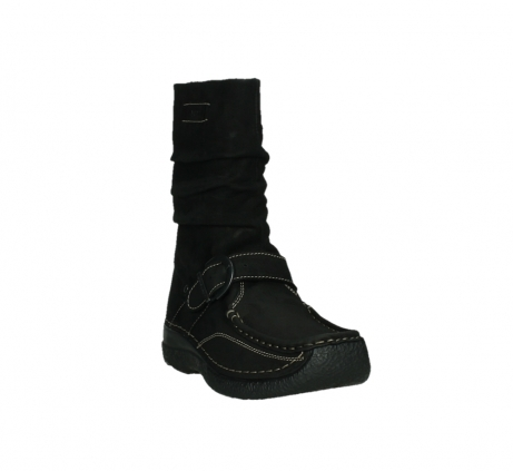 wolky mid calf boots 06267 roll jacky 50000 black oiled leather_5