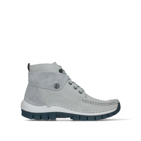 wolky lace up boots 04700 jump 11206 light gray nubuck