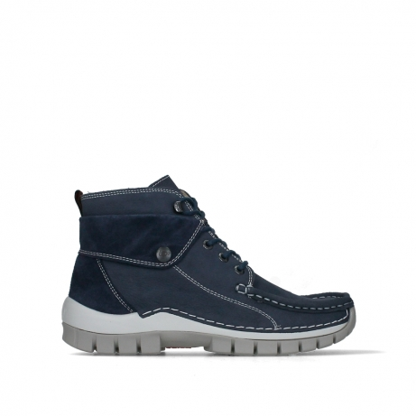 wolky lace up boots 04700 jump summer 11820 denim nubuck