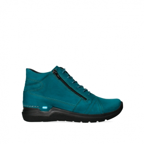 wolky lace up boots 06606 why 11880 petrol nubuck
