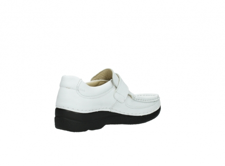 wolky slipons 06221 roll strap 70100 white printed leather_10
