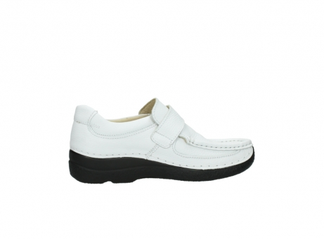 wolky slipons 06221 roll strap 70100 white printed leather_12