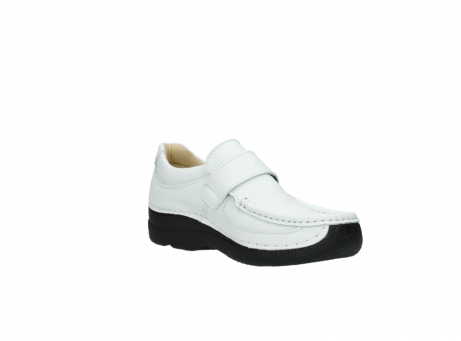 wolky slipons 06221 roll strap 70100 white printed leather_16
