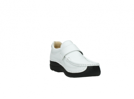 wolky slipons 06221 roll strap 70100 white printed leather_17