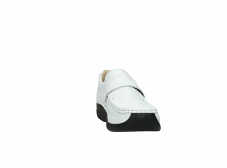 wolky slipons 06221 roll strap 70100 white printed leather_18