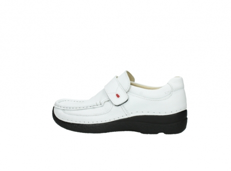 wolky slipons 06221 roll strap 70100 white printed leather_2