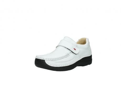 wolky slipons 06221 roll strap 70100 white printed leather_22