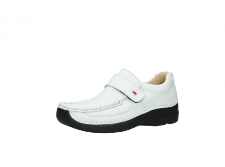 wolky slipons 06221 roll strap 70100 white printed leather_23