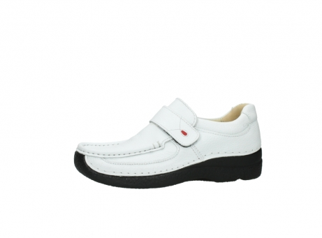 wolky slipons 06221 roll strap 70100 white printed leather_24