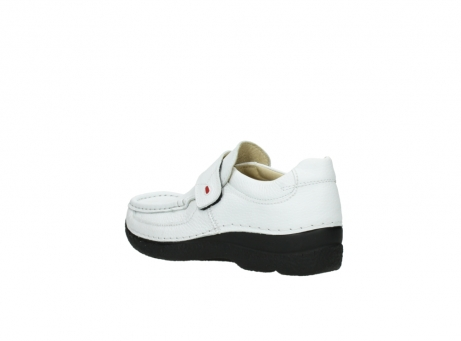 wolky slipons 06221 roll strap 70100 white printed leather_4