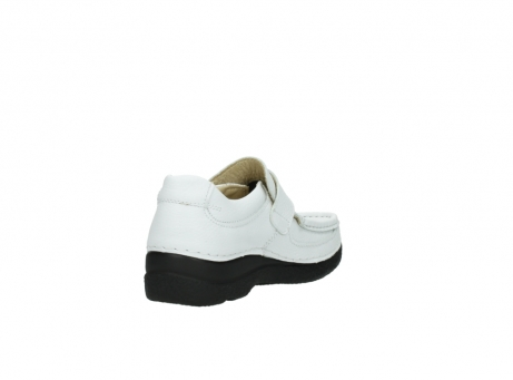 wolky slipons 06221 roll strap 70100 white printed leather_9