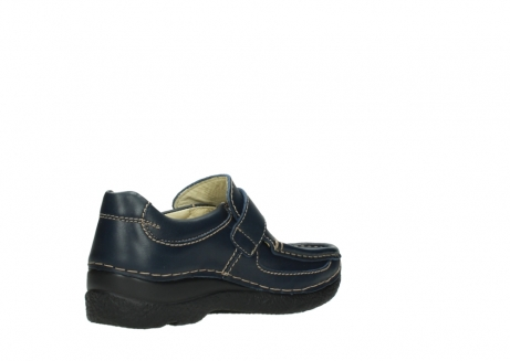 wolky slipons 06221 roll strap 30800 blue leather_10