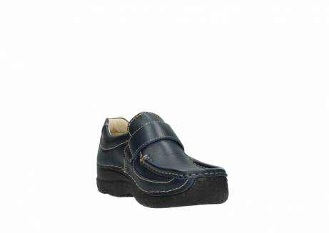 wolky slipons 06221 roll strap 30800 blue leather_17