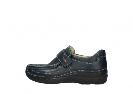 wolky slipons 06221 roll strap 30800 blue leather_2