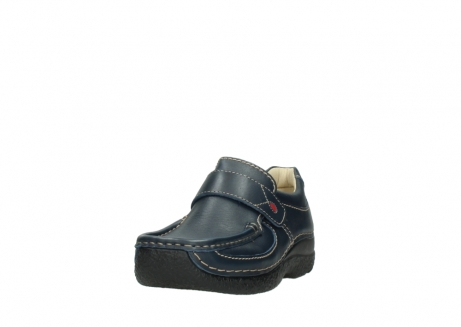 wolky slipons 06221 roll strap 30800 blue leather_21