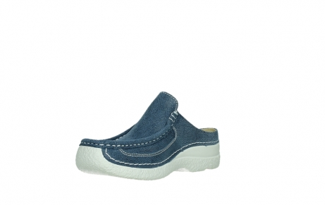 wolky clogs 06202 roll slide 15820 denimblue nubuck_10