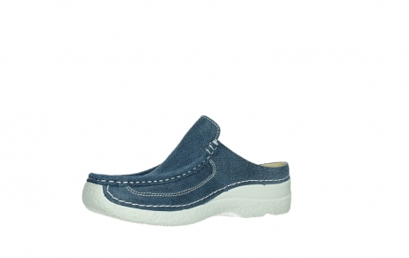 wolky clogs 06202 roll slide 15820 denimblue nubuck_11