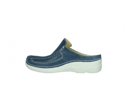 wolky clogs 06202 roll slide 15820 denimblue nubuck_14