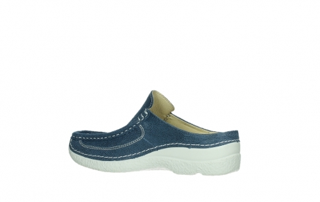 wolky clogs 06202 roll slide 15820 denimblue nubuck_15