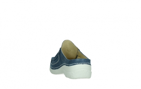 wolky clogs 06202 roll slide 15820 denimblue nubuck_18