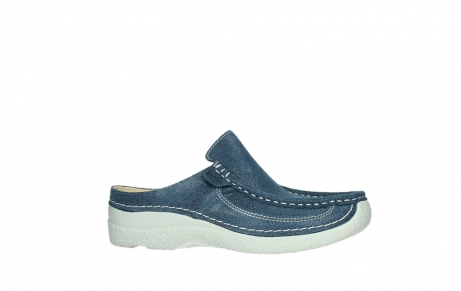 wolky clogs 06202 roll slide 15820 denimblue nubuck_2