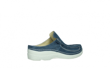 wolky clogs 06202 roll slide 15820 denimblue nubuck_23
