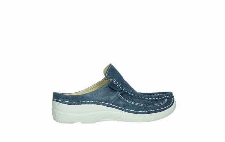wolky clogs 06202 roll slide 15820 denimblue nubuck_24