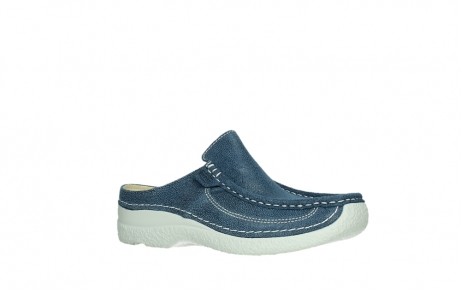 wolky clogs 06202 roll slide 15820 denimblue nubuck_3
