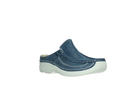 wolky clogs 06202 roll slide 15820 denimblue nubuck_4