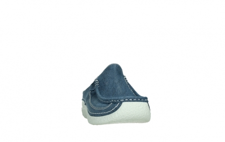 wolky clogs 06202 roll slide 15820 denimblue nubuck_6