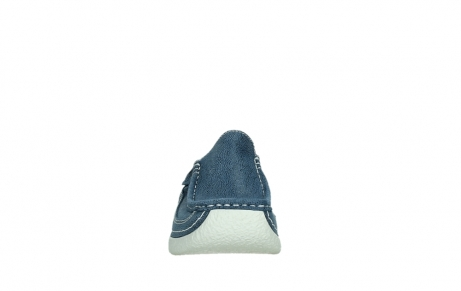 wolky clogs 06202 roll slide 15820 denimblue nubuck_7