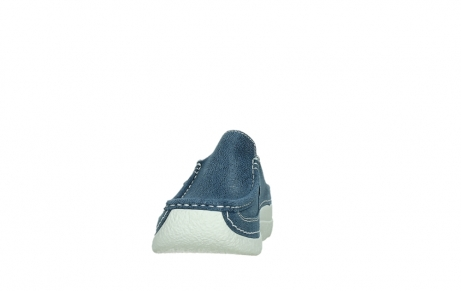 wolky clogs 06202 roll slide 15820 denimblue nubuck_8