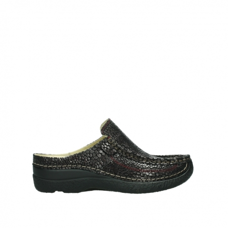Wolky Shoes 06202 Roll Slide burgandy