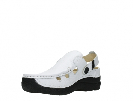 wolky clogs 06220 roll multi 70100 white printed leather_10