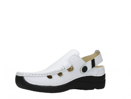 wolky clogs 06220 roll multi 70100 white printed leather_11