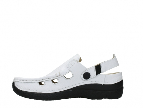wolky clogs 06220 roll multi 70100 white printed leather_13