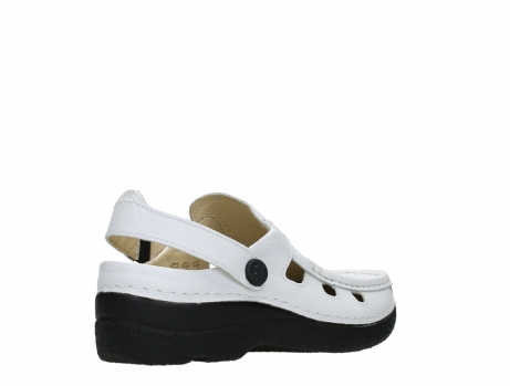 wolky clogs 06220 roll multi 70100 white printed leather_22