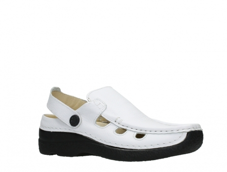 wolky clogs 06220 roll multi 70100 white printed leather_3